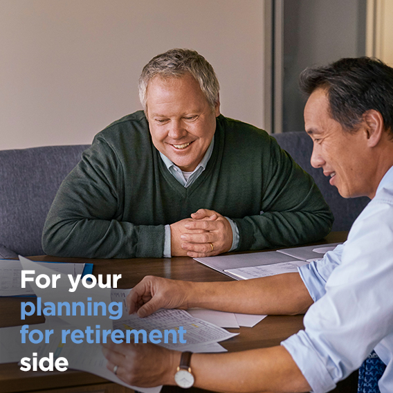 For your planning for retirement side